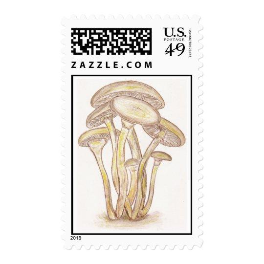 Mushrooms Stamp