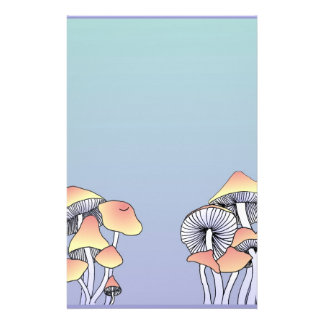 Mushrooms Stationery