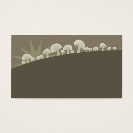 mushrooms sunrise chef catering cooking business c business card