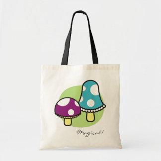 Mushrooms Tote Bag, Magical!