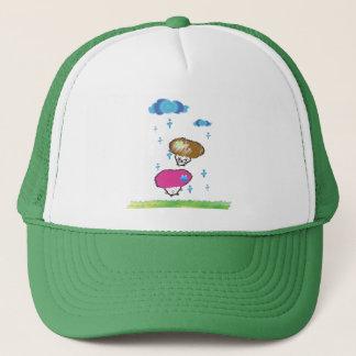 mushrooms trucker hat