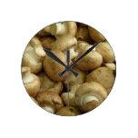 Mushrooms Wall Clocks