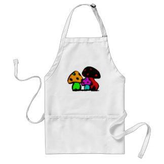 mushroomz adult apron
