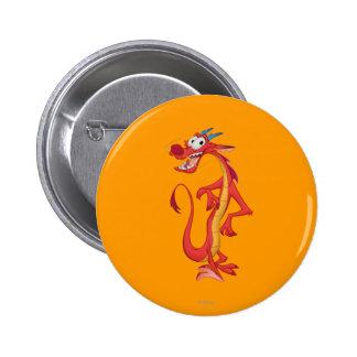 Mushu 1 pinback button