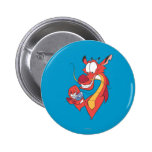 Mushu and Cri-kee 2 Inch Round Button