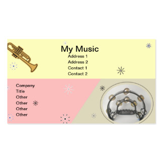 Music1 Business Card