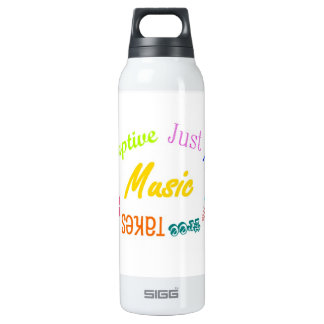 Music... 16 Oz Insulated SIGG Thermos Water Bottle