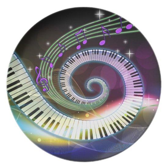 Music 1 Plate