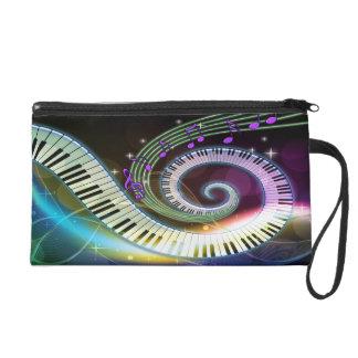 Music 1 Wristlets Bag