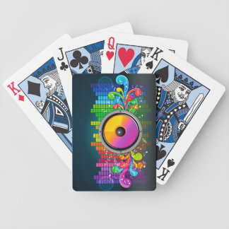 Music 22 Playing Cards