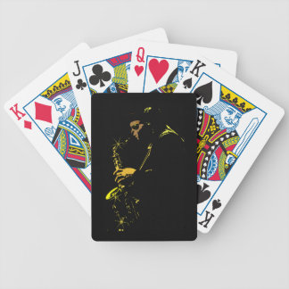 music-23767  music people jazz player sax COOL MUS Bicycle Playing Cards