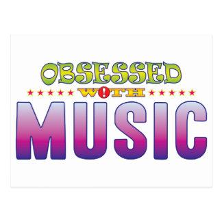 Music 2 Obsessed Postcard