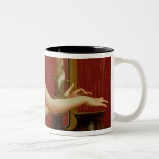 Music 2 Two-Tone coffee mug