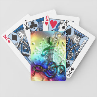 Music 34 Playing Cards