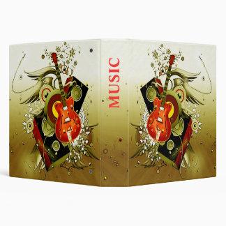 music 3 ring binders