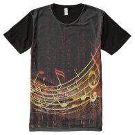 Music 4 All-Over print t-shirt