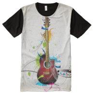 Music 5 All-Over print t-shirt