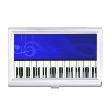 Professional Business Music 6 business card holder