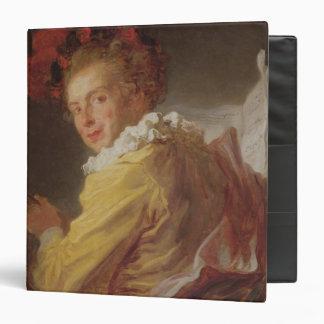 Music, a portrait of Monsieur de la Breteche 3 Ring Binder
