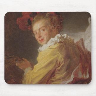 Music, a portrait of Monsieur de la Breteche Mouse Pad