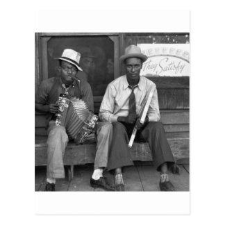 Music abajo de casera, 1938 postal