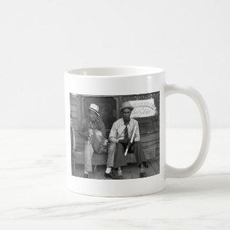Music abajo de casera 1938 taza de café