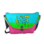 Music Action Time 2000 Love-In 1969 Let's Go Yes Messenger Bag