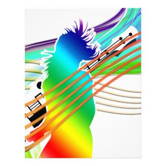 Music Addicted Letterhead