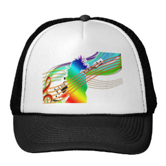 Music Addicted Trucker Hat