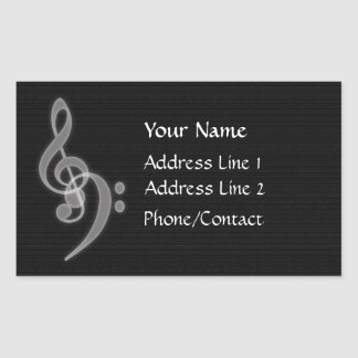 Music Address Sticker