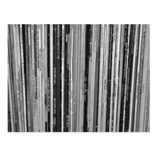 Music Albums/LP's Postcard