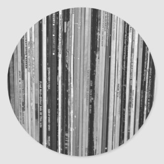 Music Albums/LP's Stickers