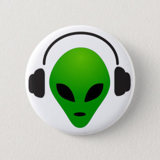 Music alien button