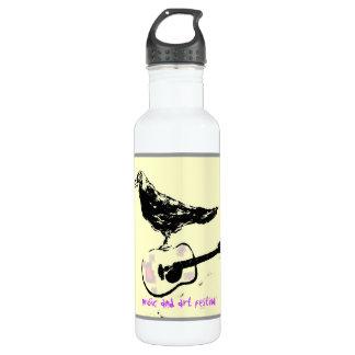 music and art festival 24oz water bottle