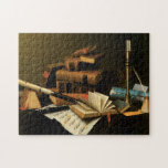 Music and Books Puzzle