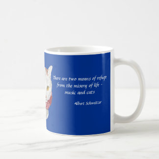Music and Cats Quote Gift Mug