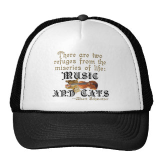 Music and Cats Trucker Hat