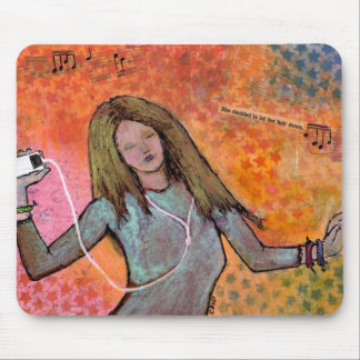 Music and Dancing Mouse Pad