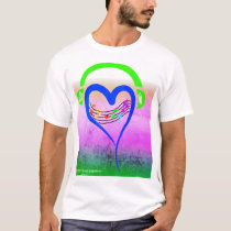 Music and Hearts T-Shirt