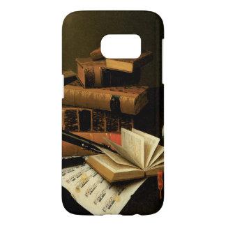 Music and Literature by William Harnett Samsung Galaxy S7 Case