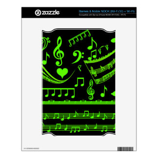Music and me,In Green_ Skin For NOOK