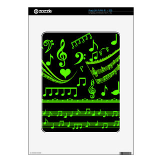 Music and me,In Green_ Decals For The iPad