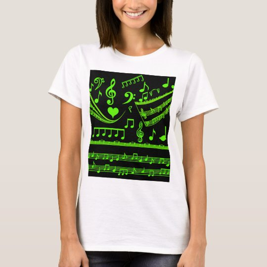 Music and me,In Green_ T-Shirt