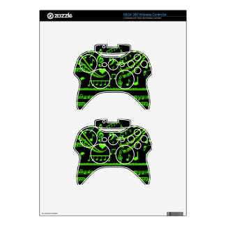 Music and me,In Green_ Xbox 360 Controller Decal