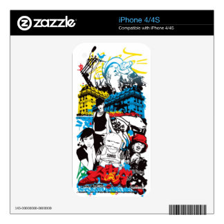 Music and more iPhone 4 skin
