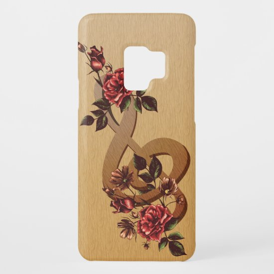 Music and Roses Case-Mate Samsung Galaxy S9 Case