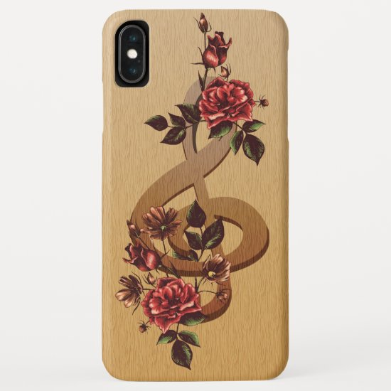 Music and Roses iPhone XS Max Case