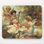Music Angels by Hans Zatzka, Victorian Art Mouse Pad