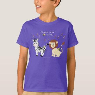 "Music Animals - ""Shake Your Bee-Kind"" Kids' T-Shirt"