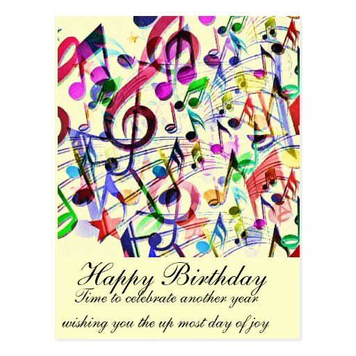 Music Apprecition_ Post Card